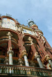 1 palua της Βαρκελώνης de Λα musica Στοκ φωτογραφίες με δικαίωμα ελεύθερης χρήσης