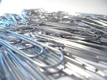 1 paperclips Fotografia Royalty Free