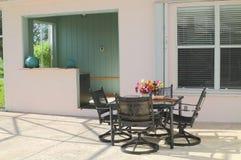 1 patio κατοικημένο Στοκ φωτογραφία με δικαίωμα ελεύθερης χρήσης