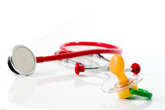 #1 pediatra Imagens de Stock