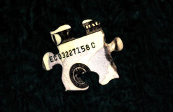 1 pengarpussel Arkivfoto
