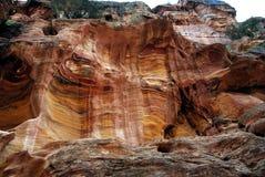 1 petra Иордана части ваяет камень стоковые фото