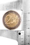 1 pièce de monnaie neuve Image libre de droits