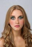 (1) piękni blondynki headshot potomstwa Zdjęcia Royalty Free