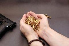 (1) pistoletu handel Zdjęcie Royalty Free