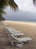 1 plażowy Boracay zdjęcia stock