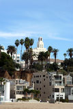 1 plażowy Santa Monica Zdjęcia Royalty Free