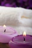 (1) pojęcia purpur zdrój Obraz Royalty Free
