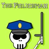 (1) policjant Obraz Stock