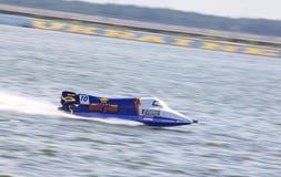 1 powerboat för formelgrandpr h2o Arkivfoton