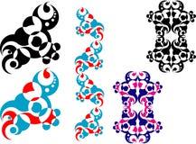 1 projekt geometrycznego abstrakcyjne Zdjęcie Royalty Free