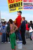 1 protest Royaltyfria Foton