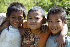 (1) przyjaciele Laos Obrazy Stock