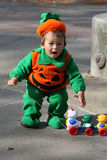 #1.Pumpkin Baby. Stock Photography