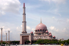 1 putrajaya masjid Στοκ Εικόνες