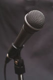 1 röst- mikrofon Royaltyfri Bild
