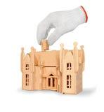 (1) rękawiczka fotografia stock