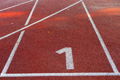 1 racecourse Royaltyfria Foton