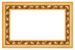 (1) ramowy złoty Zdjęcia Stock