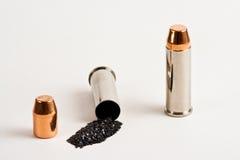 1 rechargement de 44 magnums Photo stock