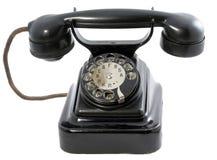 1 retro telefon Fotografering för Bildbyråer