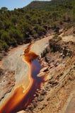 1 rio tinto Arkivfoton