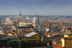1 rome sikt Arkivfoto