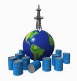 1 ropy naftowej Zdjęcie Stock