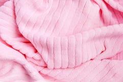 1 rosa handduk royaltyfri foto