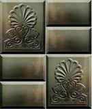 1 série antique de béton de bloc Photo stock