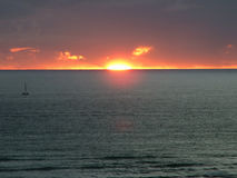 1 słońca fotografia stock