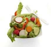 1 salade de plaque Images libres de droits