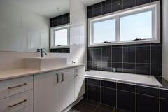 1 salle de bains Images libres de droits