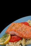 1 salmon стейк Стоковые Фото