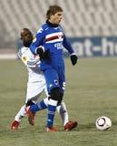 1 sampdoria 2 debrecen против Стоковое фото RF