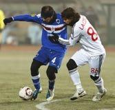 1 sampdoria för 2 debrecen vs Royaltyfri Fotografi