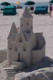 1 sandcastle конкуренции Стоковая Фотография RF