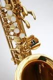 1 saxofon Royaltyfri Foto