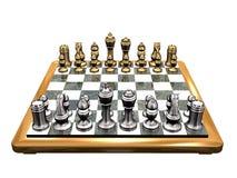 1 schackkunglig person v Royaltyfri Bild