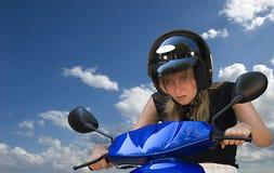 1 scooter Στοκ Εικόνα