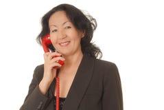 1 senior bizneswomanu Obrazy Royalty Free