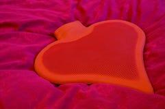 1 serce waterbottle Obrazy Stock