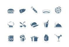 1 serie för matsymbolspiccolo royaltyfri illustrationer