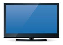 1 set television för hd Arkivfoto