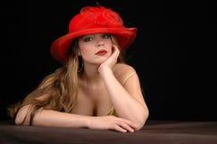 1 sexiga kvinna Arkivfoto