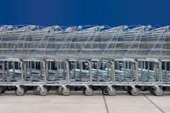 1 shoppa för vagnar Royaltyfria Foton