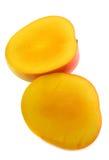 1 skivade mango Arkivbilder