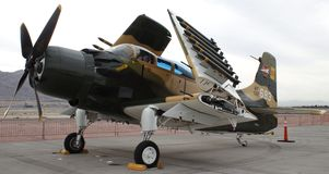A-1 Skyraider Royalty Free Stock Photos