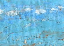 1 skytextur Arkivbilder
