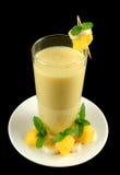 1 smoothie мангоа банана Стоковое Изображение